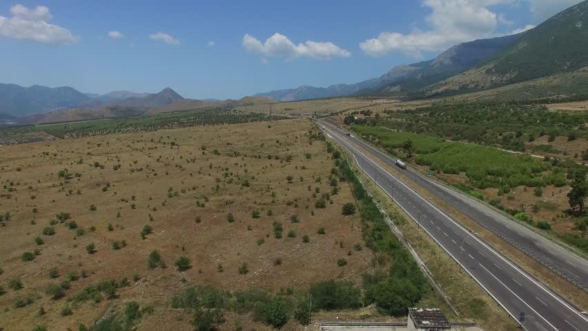 highway roads spain