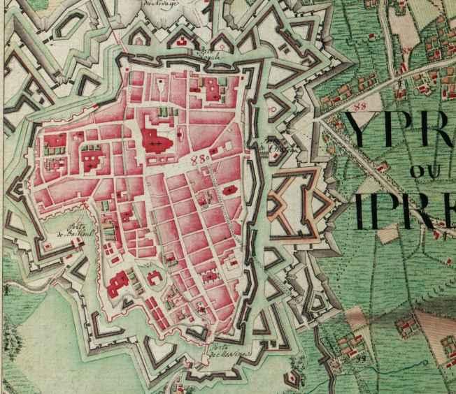 Ieper,_Belgium_;_Ferraris_Map